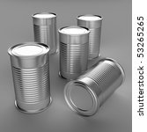 food cans | Shutterstock . vector #53265265