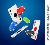casino poker design template.... | Shutterstock .eps vector #532671604