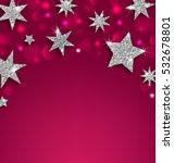 illustration starry silver... | Shutterstock . vector #532678801