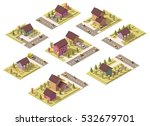 vector isometric low poly...   Shutterstock .eps vector #532679701