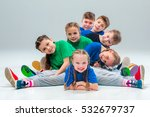 the kids dance school  ballet ... | Shutterstock . vector #532679737