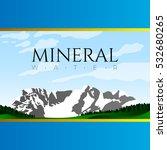 mineal water graphic design... | Shutterstock .eps vector #532680265