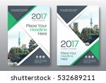 green color scheme with city... | Shutterstock .eps vector #532689211