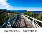 blue skies adores the walkway... | Shutterstock . vector #532698511