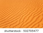 Close Up On Sands Of The Desert