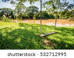 swing by the river. | Shutterstock . vector #532712995