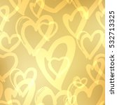 background hearts. great for... | Shutterstock . vector #532713325