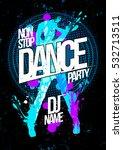 winter dance party design... | Shutterstock .eps vector #532713511