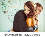 warm light illuminates... | Shutterstock . vector #532724491
