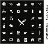 cooking icons universal set  | Shutterstock . vector #532725319