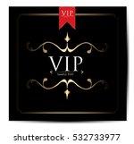 vip. card | Shutterstock .eps vector #532733977