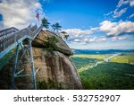 Chimney Rock And View Of Lake...