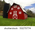 Red Barn Scenic