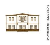 turkey  ankara  hamamonu houses ... | Shutterstock .eps vector #532765141