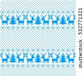 new year's christmas pattern...   Shutterstock .eps vector #532771321