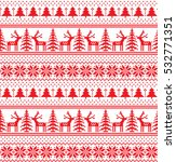 new year's christmas pattern... | Shutterstock .eps vector #532771351