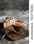 Hot Coffee And Chocolate Mousse ...
