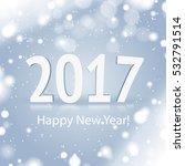 2017 snowy sign | Shutterstock .eps vector #532791514