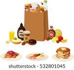 vector illustration of various... | Shutterstock .eps vector #532801045