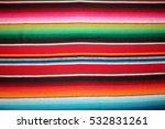 poncho mexican cinco de mayo... | Shutterstock . vector #532831261