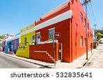 Colorful Bo Kaap Area Of Cape...