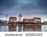fishing village   ethnographic... | Shutterstock . vector #532852105