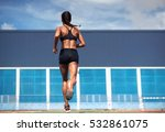 running woman | Shutterstock . vector #532861075