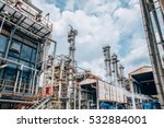 industrial zone the equipment... | Shutterstock . vector #532884001
