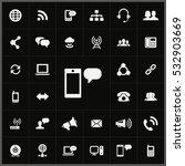 sms icon. communication icons... | Shutterstock . vector #532903669