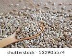 roasted sunflower kernels in a... | Shutterstock . vector #532905574