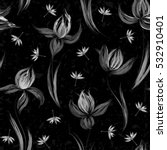 floral seamless pattern of... | Shutterstock .eps vector #532910401