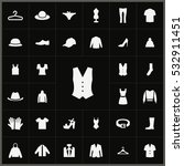 vest icon. clothes icons... | Shutterstock . vector #532911451