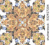 mosaic colorful artistic... | Shutterstock . vector #532927204