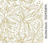 christmas seamless pattern.... | Shutterstock .eps vector #532930894