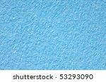 macro shot of  texture of  blue paper - stock photo