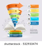 books step education cone... | Shutterstock .eps vector #532933474