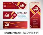 ambulance icon on vector... | Shutterstock .eps vector #532941544