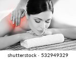 healthy beautiful woman spa.... | Shutterstock . vector #532949329