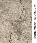 Crack Cement Concrete Texture...