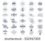 big christmas bundle  ... | Shutterstock . vector #532967305