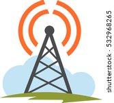 internet and telecom signal...