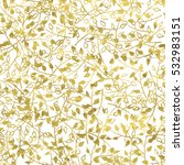gold and white fantasy seamless ... | Shutterstock .eps vector #532983151