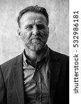 portait shot of mature bearded...   Shutterstock . vector #532986181