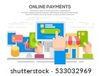 vector concept illustration of... | Shutterstock .eps vector #533032969