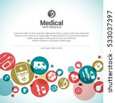 medical treatment background... | Shutterstock .eps vector #533037397
