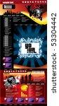 website template | Shutterstock .eps vector #53304442