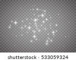 glow light effect. vector...