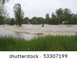flooding rivers in north east... | Shutterstock . vector #53307199