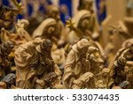 Wooden Statues Of The Crib In ...