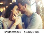 sentimental happy couple in... | Shutterstock . vector #533093401
